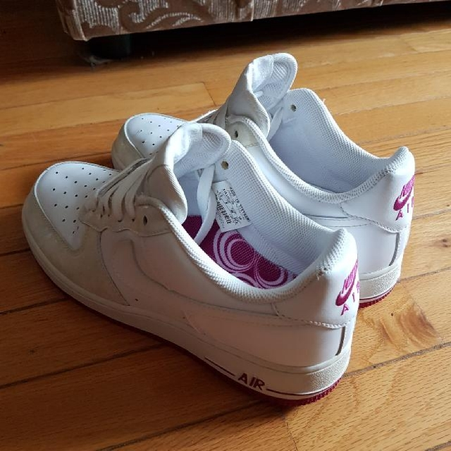 Nike Air Force 1 White Rave Pink