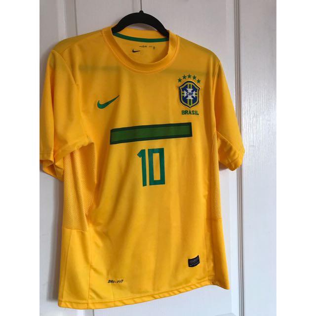Nike Brasil Kaka World Cup jersey