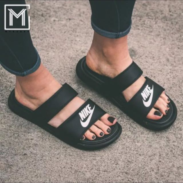c07782747b97 NIKE SLIDERS slippers sandals authentic benassi duo strap Korean ...