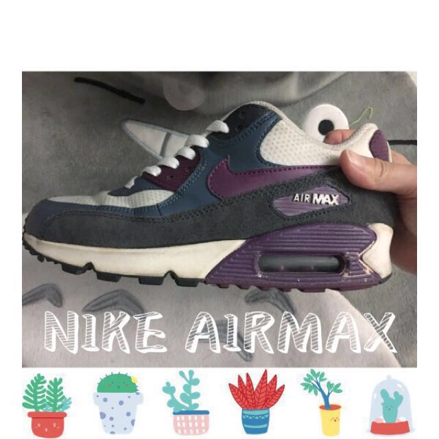 NIKE WMNS AIR MAX 90 ESSENTIAL 復古慢跑鞋 US 5.5 #交換最划算