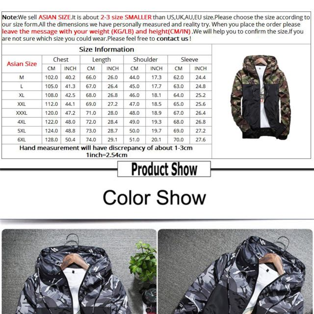 8126bf71 Ninja Camouflage Men hoodies Jacket Windbreaker plus size 6xl, Bulletin  Board, Preorders on Carousell