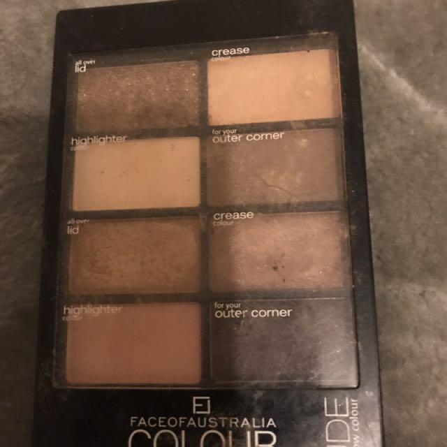 Nude, Face Of Australia Eyeshadow