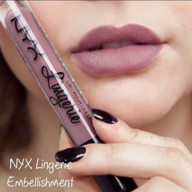 NYX Lip Lingerie shade no 2 Embellisment