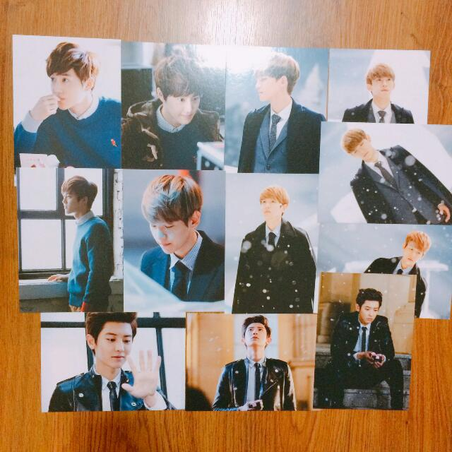OFFICIAL EXO MIRACLE IN DECEMBER POSTCARD SET