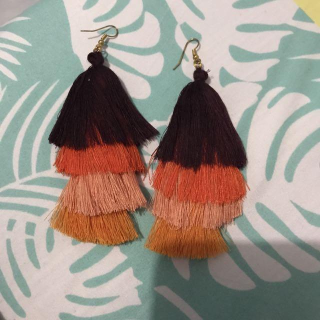 Ombre Tassle earrings