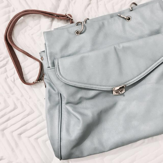 Pastel Leather Bag