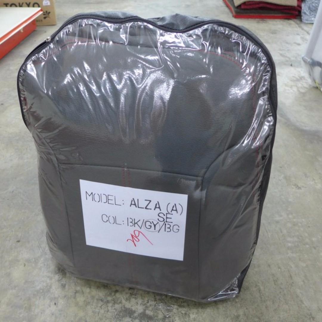 Perodua Alza Manual Seat Cover Auto Accessories On Carousell As Qr Satu Set Depan Belakang