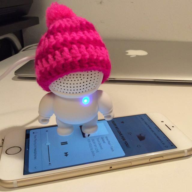 PRICE DROP! Brand New Portable Speaker - Super Adorable!!!