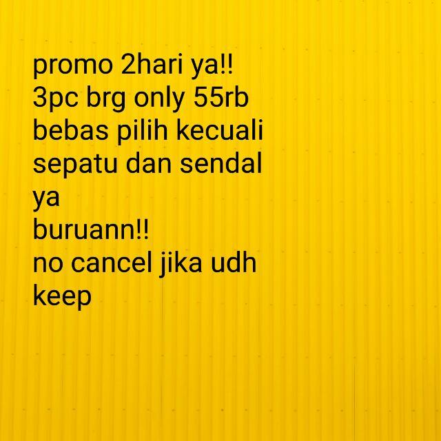 Promo Murah!!