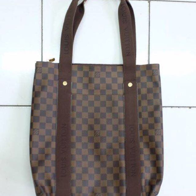 REPRICE Louis Vuitton Beaubourg Tote (Damier Canvas)