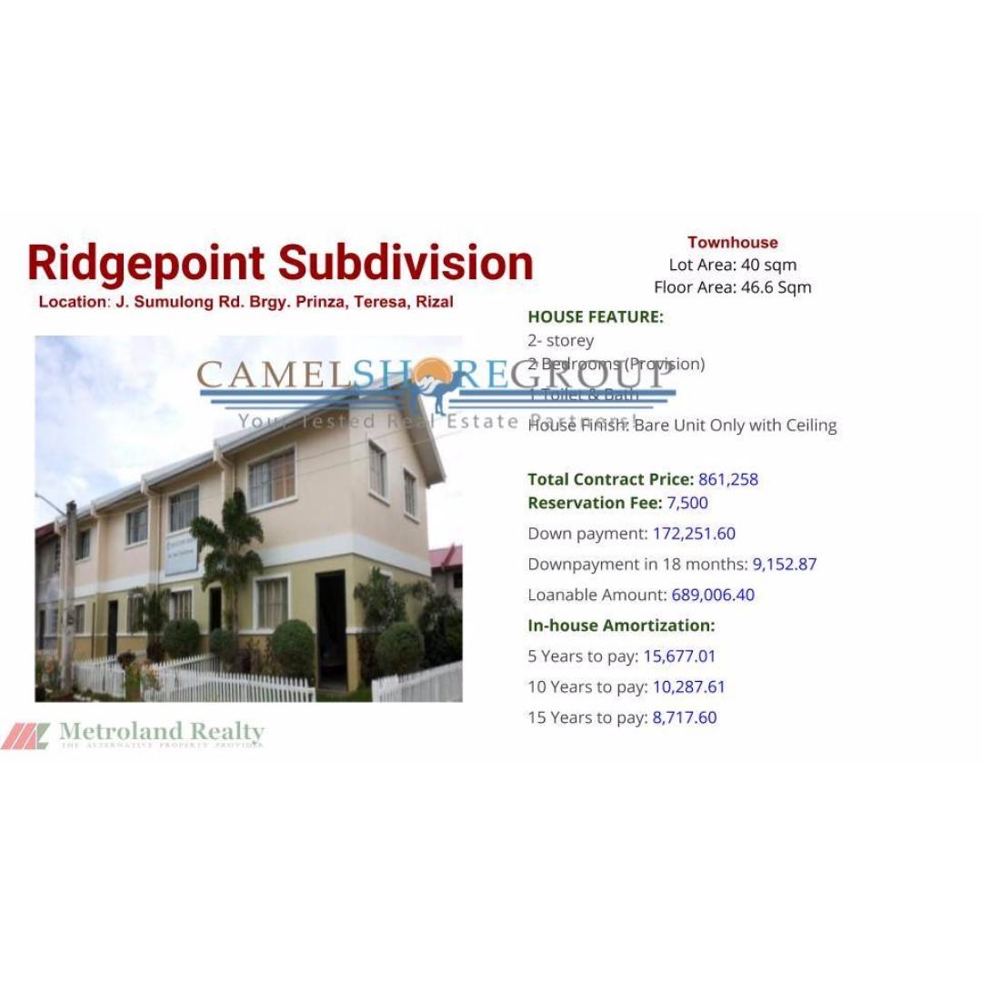 ridgepoint subdivision, tereza rizal