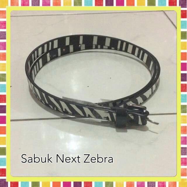 sabuk NEXT zebra