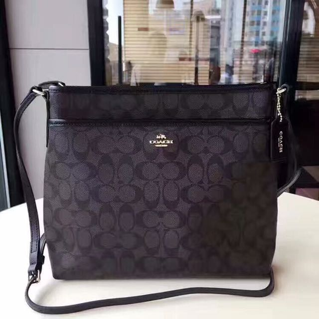 ... closeout coach signature file messenger sling bag luxury bags wallets  on carousell 62958 9c85e 65f7de85e0