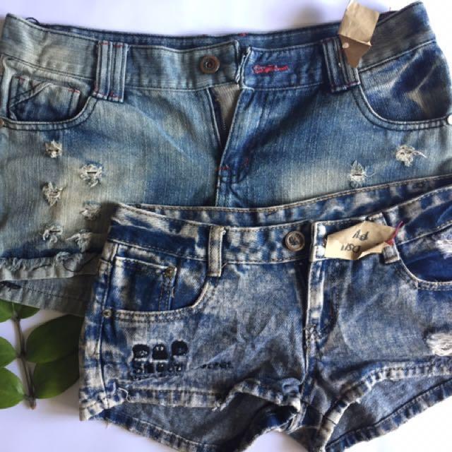 SALE💋💋Bundle 5: Denim Shorts