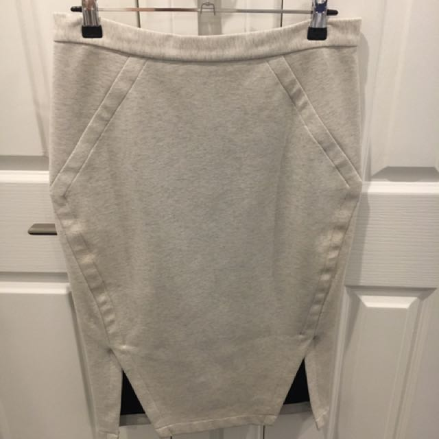 Sheike grey skirt