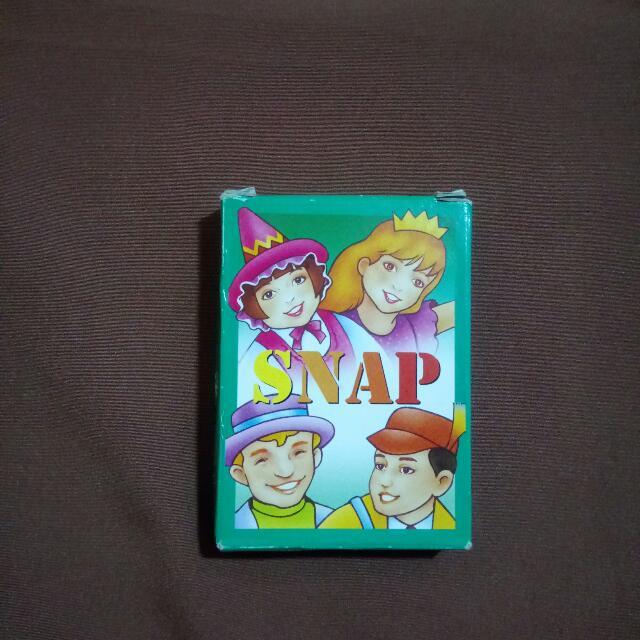 Snap Card Games