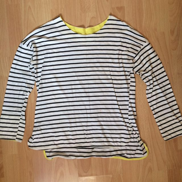 Stripes Pullover Longsleeves