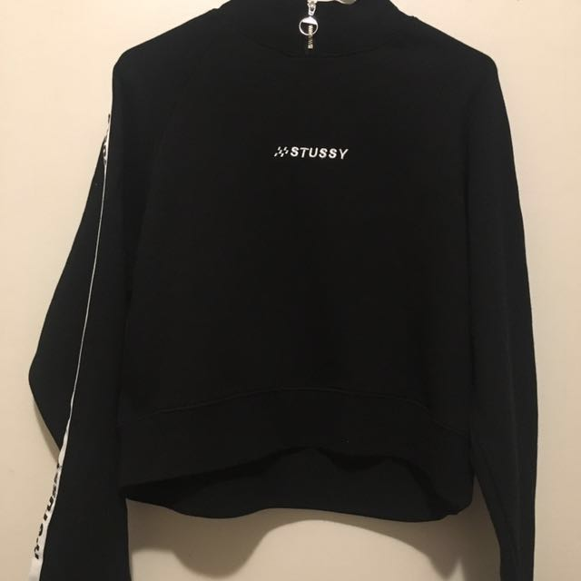 stussy retreat raglan sweater