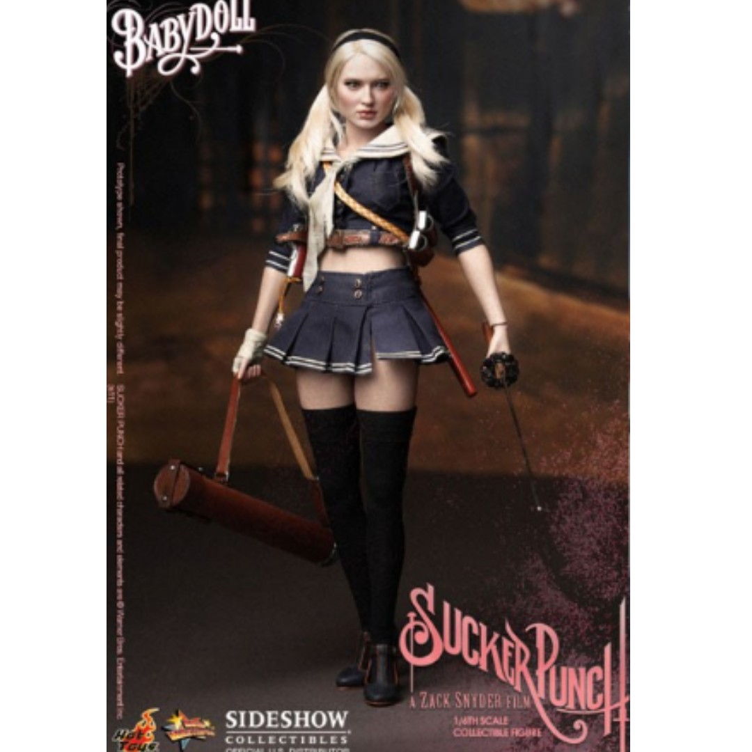 sucker punch babydoll baby doll emily brownng hottoys, toys & games