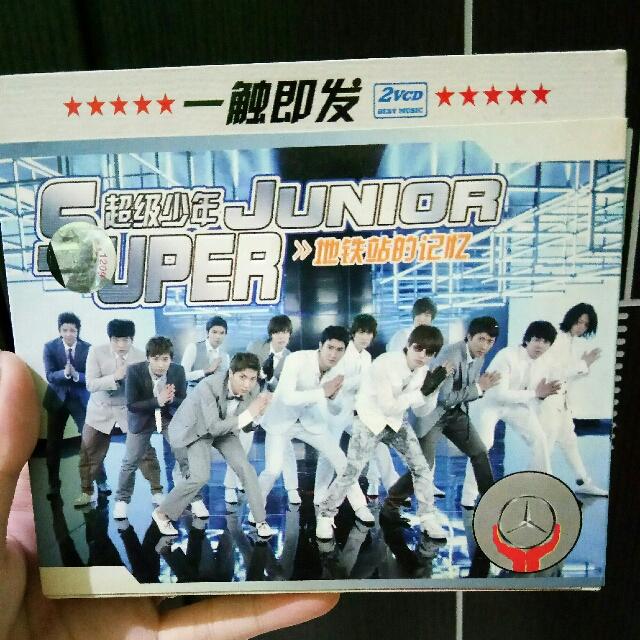 Super Junior CD Album