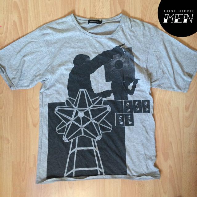 Surreal Print Shirt