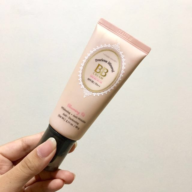 [SWATCHED ONLY] Etude House Precious Mineral BB Cream