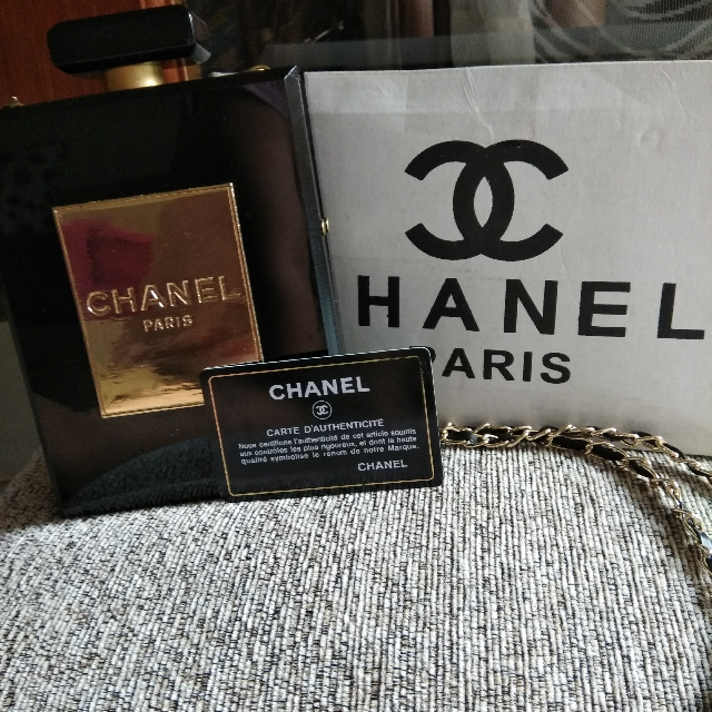 Tas Chanel Paris cluth