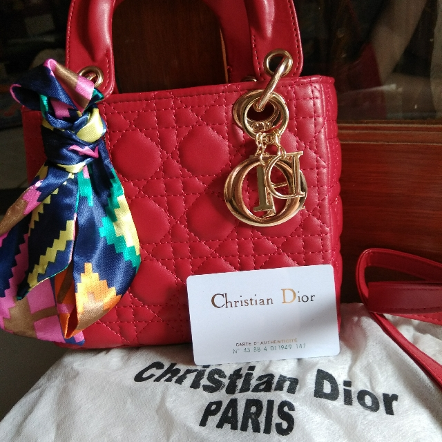 Tas Christian Dior paris Super