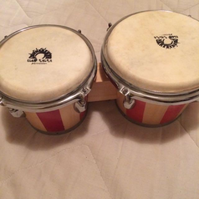 Technote two tone bongo drums