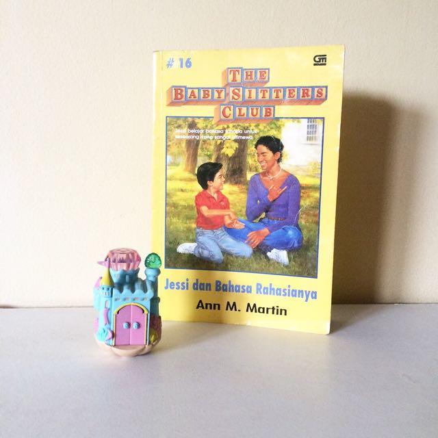 The Baby-Sitters Club #16 - Jessi & Bahasa Rahasianya - Ann M.Martin