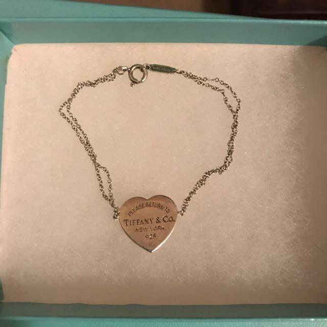 Tiffany co heart bracelet