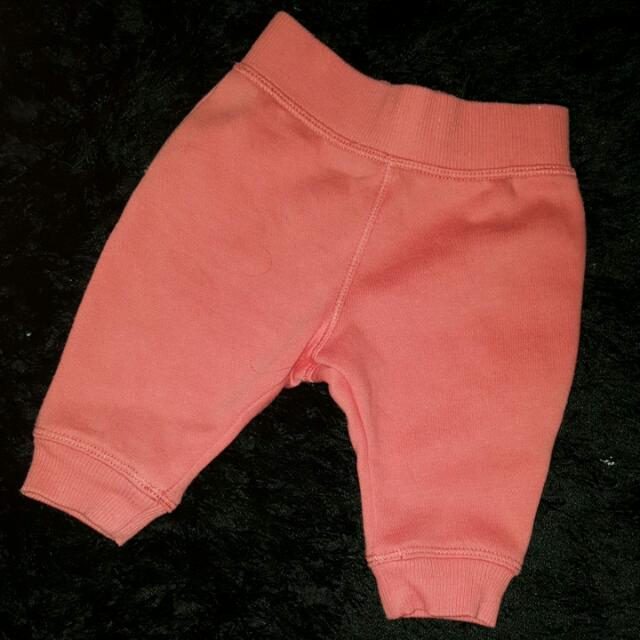 Tiny Little Wonders Pink Trackies (0-3months)