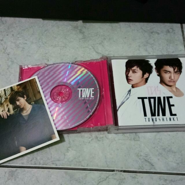 Tohoshinki Tone Japanese Album