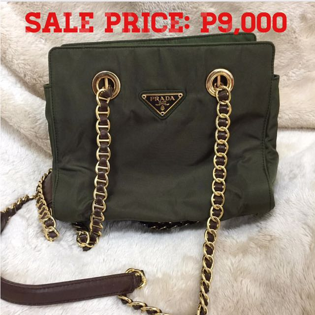 6f1e17cb0d577f hot prada textured leather shoulder bag b1145 28e16; where can i buy  vintage prada chain bag womens fashion bags wallets on carousell f1d3c c017e