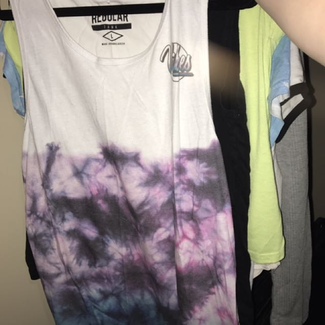Watercolour Muscle Tee