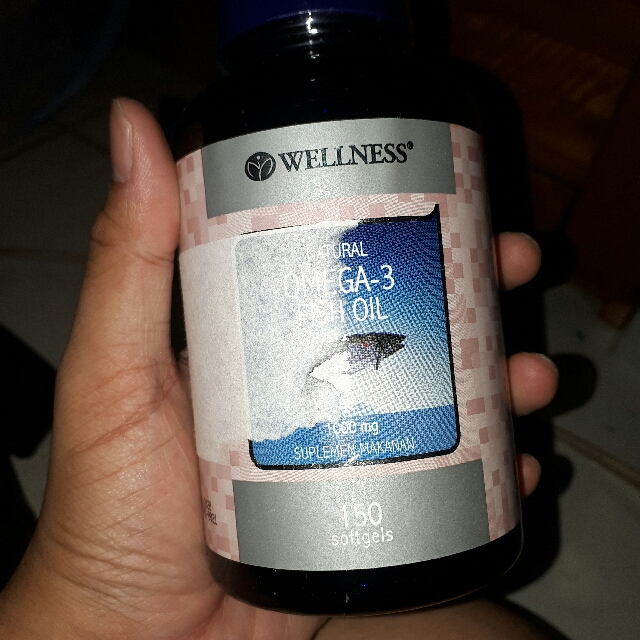 Wellness Natural Omega 3 (150softgels)