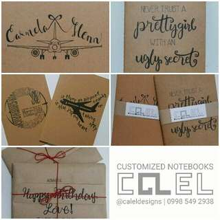 Personalized Kraft Notebooks