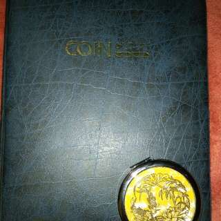 Coin Album...100+ collectible coins!