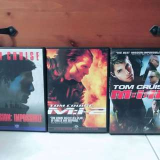 Mission impossible - TOM CRUISE I TO III