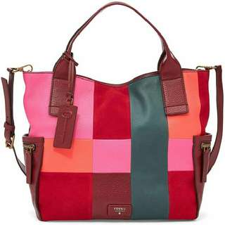 Tas Fossil Red Emerson