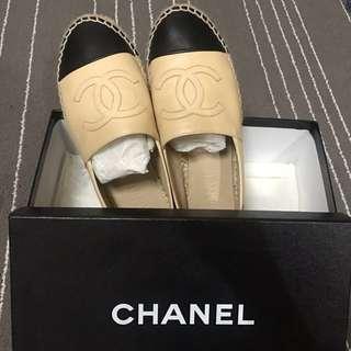Chanel 鉛筆鞋 駝色