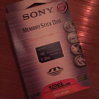 Memory stick duo 128MB