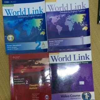 World Link 1&2、Reading And Vocabulary Development