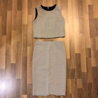 Padini 2 piece dress