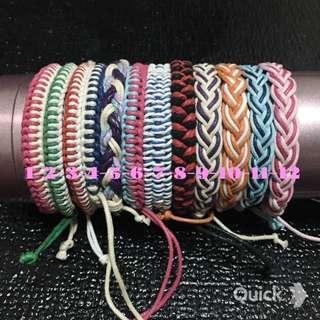 ⭐️全新 衝浪手繩 編織手環 捕夢網手環⚡️手作 情侶對鍊