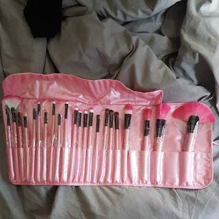 23 piece set makeup brushes