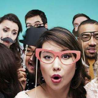 Photo booth  only at $ 99/hr
