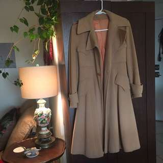 Saks Vintage Wool Coat