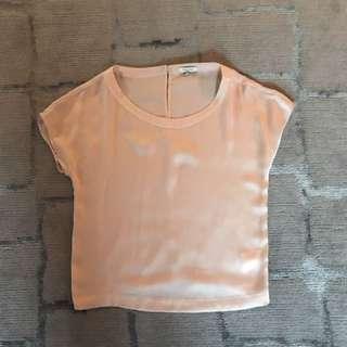 Talula Silk T-Shirt (Size XS)