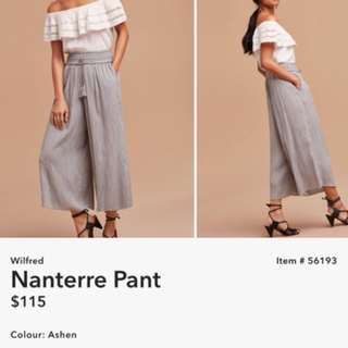 Wilfred Nanterre pants XS